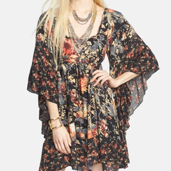 *SOLD* Free People Heart of Gold Mini Dress